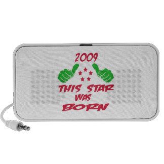 2009 this star was born notebook speakers