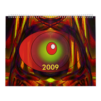 2009 Trance Dance Wall Calendar
