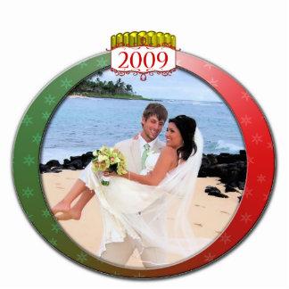 2009 Wedding Christmas Ornament