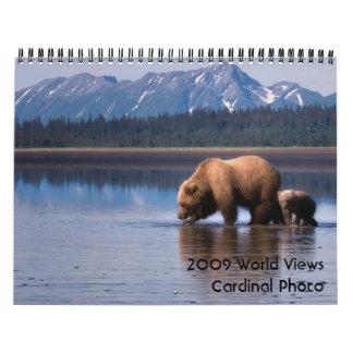 2009 World Views - Customized Wall Calendar