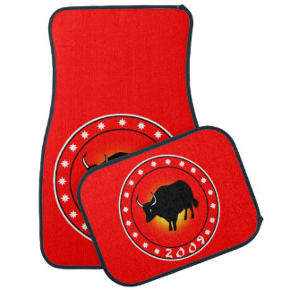 2009 Year of the Ox Car Mat