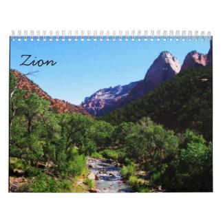 2009 Zion Calendar