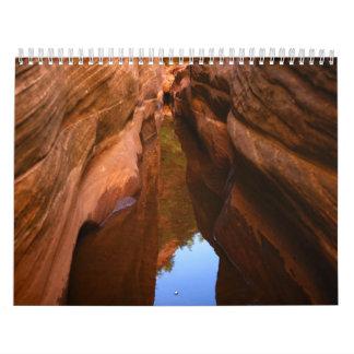 2009 zion national park calendar