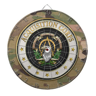 [200] Acquisition Corps (AAC) Branch Insignia [3D] Dart Board