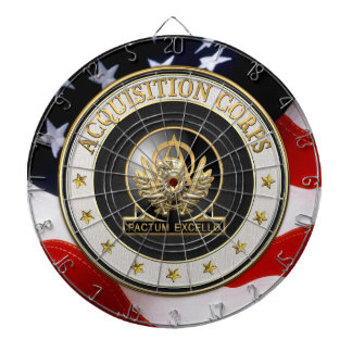 [200] Acquisition Corps (AAC) Regimental Insignia Dartboard