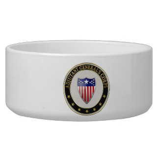 [200] Adjutant General's Corps Branch Insignia [3D Bowl