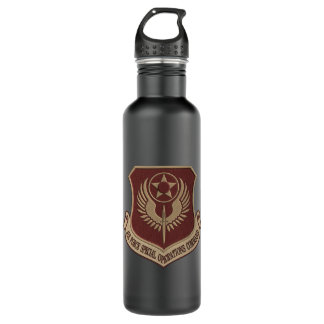 [200] AFSOC Patch [Desert Tan] Stainless Steel Water Bottle