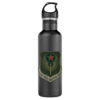 [200] AFSOC Patch [Subdued] Stainless Steel Water Bottle