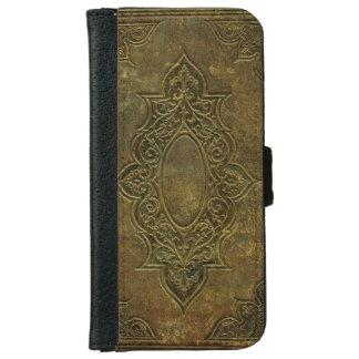 200 años de libro del cuero de la cubierta carcasa de iPhone 6