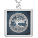 [200] Árbol de la vida céltico [plata] Joyeria
