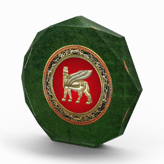 [200] Babylonian Winged Bull Lamassu [3D] Acrylic Award