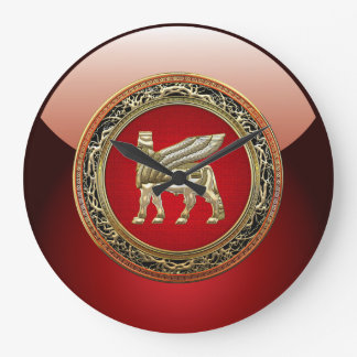 [200] Babylonian Winged Bull Lamassu [3D] Clock