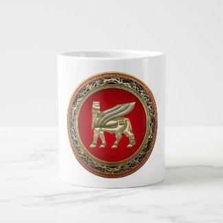 [200] Babylonian Winged Bull Lamassu [3D] Giant Coffee Mug