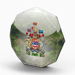 """[200] Canada Coat of Arms [3D] Acrylic Award<br><div class=""""desc"""">Introducing """"World Heraldry 3D"""" collection by Serge Averbukh, showcasing unique heraldry art from all around the world. Here you will find framed and wrapped/stretched canvas prints featuring Canada Coat of Arms. Canada is a North American country consisting of ten provinces and three territories. Located in the northern part of the...</div>"""