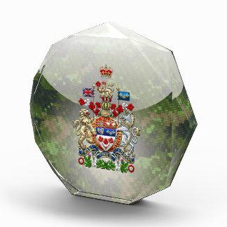 [200] Canada Coat of Arms [3D] Acrylic Award