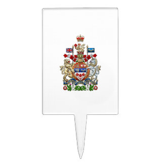 [200] Canada Coat of Arms [3D] Cake Topper