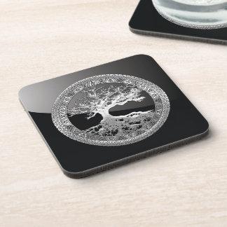 [200] Celtic Tree of Life [Silver] Coaster