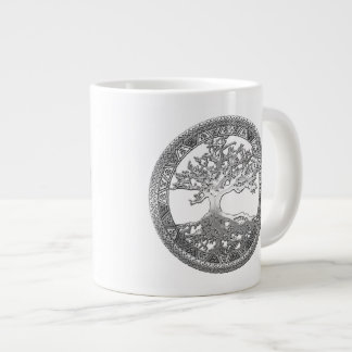 [200] Celtic Tree of Life [Silver] Giant Coffee Mug