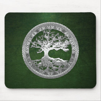 [200] Celtic Tree of Life [Silver] Mouse Pad