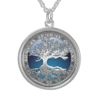[200] Celtic Tree of Life [Silver] Sterling Silver Necklace