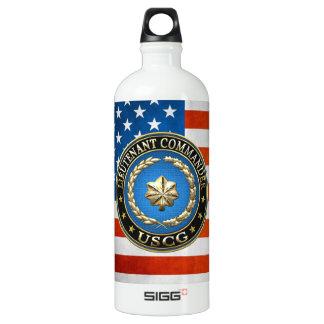 [200] CG: Lieutenant commander (LCDR) Aluminum Water Bottle