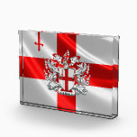 """[200] City of London - Coat of Arms Acrylic Award<br><div class=""""desc"""">Introducing project """"Cities of the World"""" series, part of the """"World Heraldry 3D"""" collection by C.7 Design Studio, showcasing stunning digital paintings of city coats of arms and emblems from all over the world. Here you will find fine art prints, featuring City of London - Coat of Arms over Flag...</div>"""