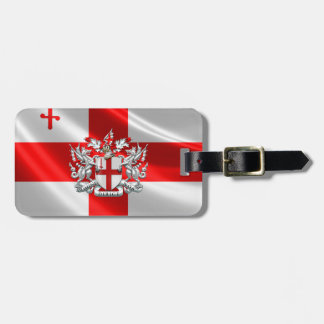 [200] City of London - Coat of Arms Bag Tag