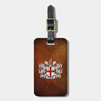 [200] City of London - Coat of Arms Bag Tags