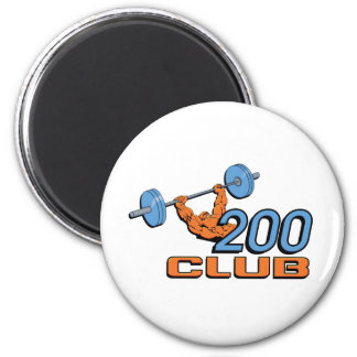 200 Club 2 Inch Round Magnet