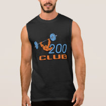 200 Club Bench Press Cut-off Shirt