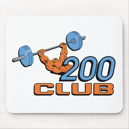 200 Club Mouse Pad