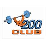 200 Club Post Card