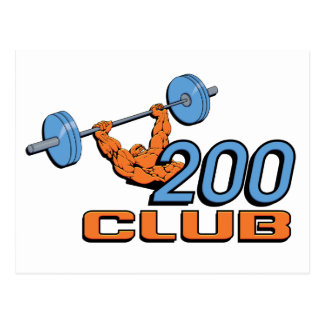 200 Club Postcard