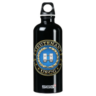 [200] Coast Guard: Lieutenant (LT) Aluminum Water Bottle