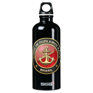 [200] Corpo De Fuzileiros Navais [Brasil] (CFN) Water Bottle
