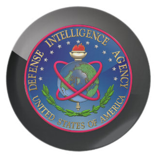 200 Defense Intelligence Agency DIA Seal Party Plate