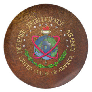 200 Defense Intelligence Agency DIA Special Edn Party Plates