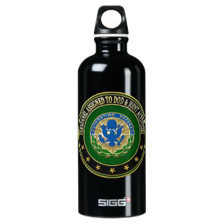 [200] DOD & Joint Activities DUI Special Edition Aluminum Water Bottle