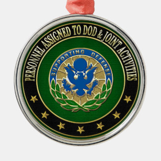 [200] DOD & Joint Activities DUI Special Edition Metal Ornament