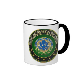 [200] DOD & Joint Activities DUI Special Edition Ringer Coffee Mug
