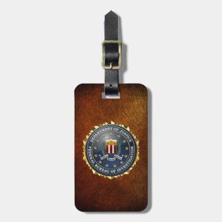 [200] Edición especial del FBI Etiquetas De Maletas