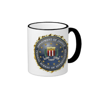 [200] Edición especial del FBI Taza De Dos Colores
