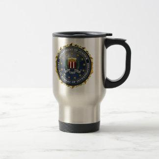 [200] Edición especial del FBI Taza Térmica