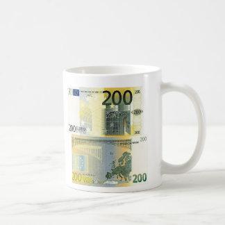 200 Euro Banknote Coffee Mug