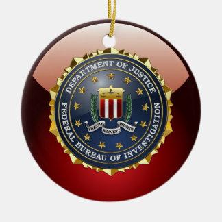 [200] FBI Special Edition Ceramic Ornament