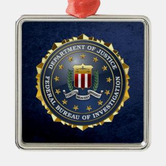 [200] FBI Special Edition Metal Ornament