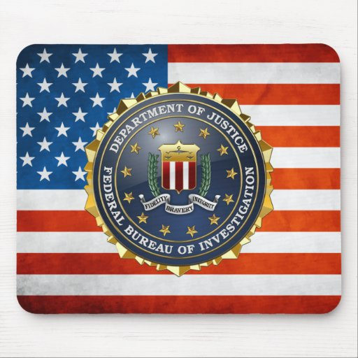 [200] FBI Special Edition Mouse Pad