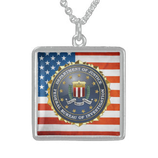 [200] FBI Special Edition Personalized Necklace