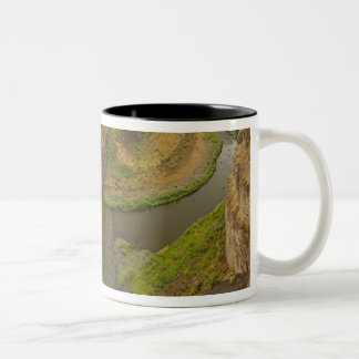200 foot high Palouse Falls State Park in Two-Tone Coffee Mug