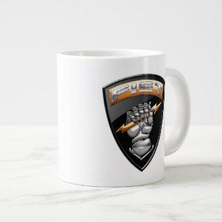 [200] Forward Observer (FIST) [Emblem] Large Coffee Mug